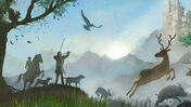 Dominion: Menagerie board game artwork