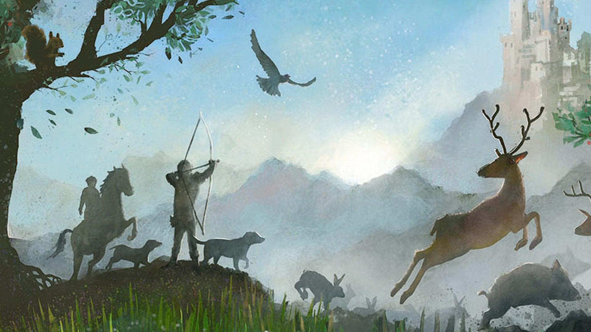 Dominion: Menagerie board game artwork