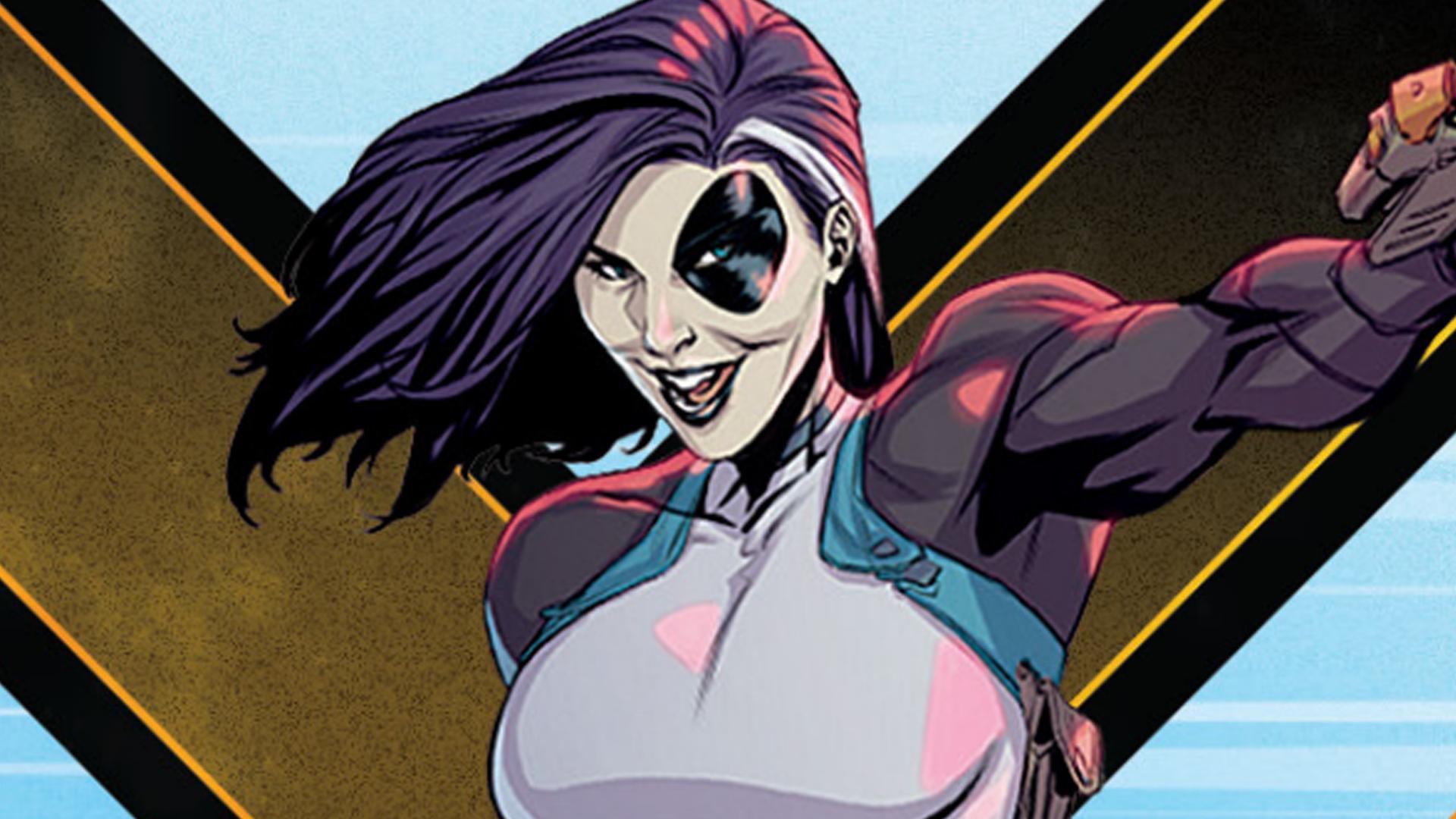 Domino X-Men: Mutant Insurrection artwork