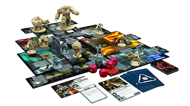 Doom: The Board Game board game layout