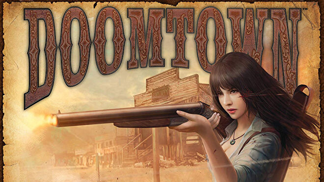 Doomtown: Reloaded trading card game artwork
