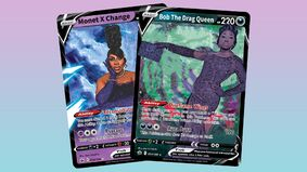 Image for Why isn't there a Drag Race trading card game yet?