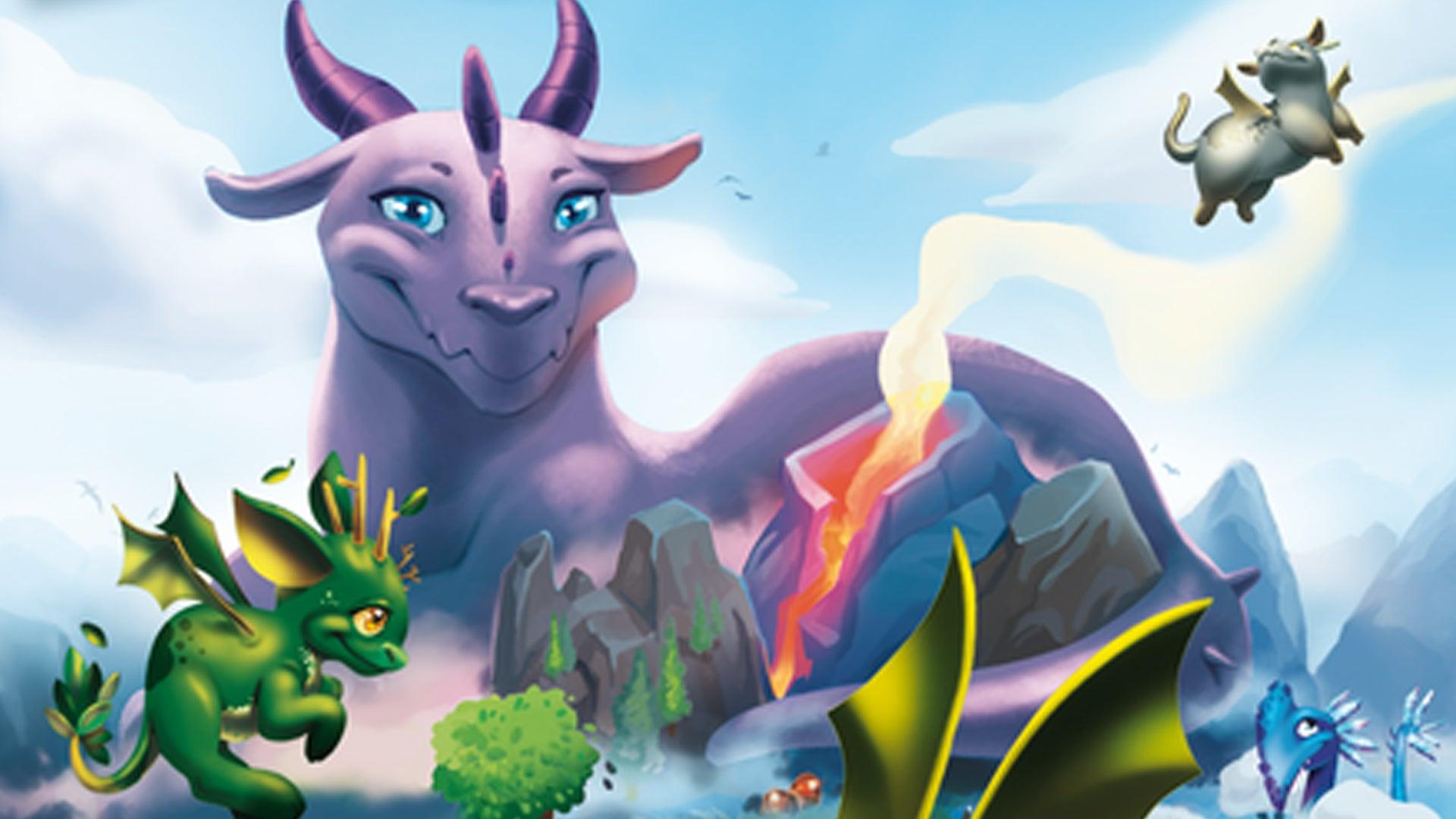 Dragomino board game artwork