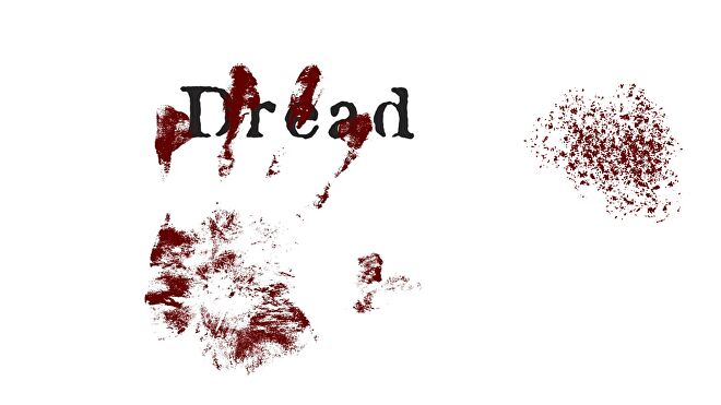 Dread, an easy horror tabletop RPG game.