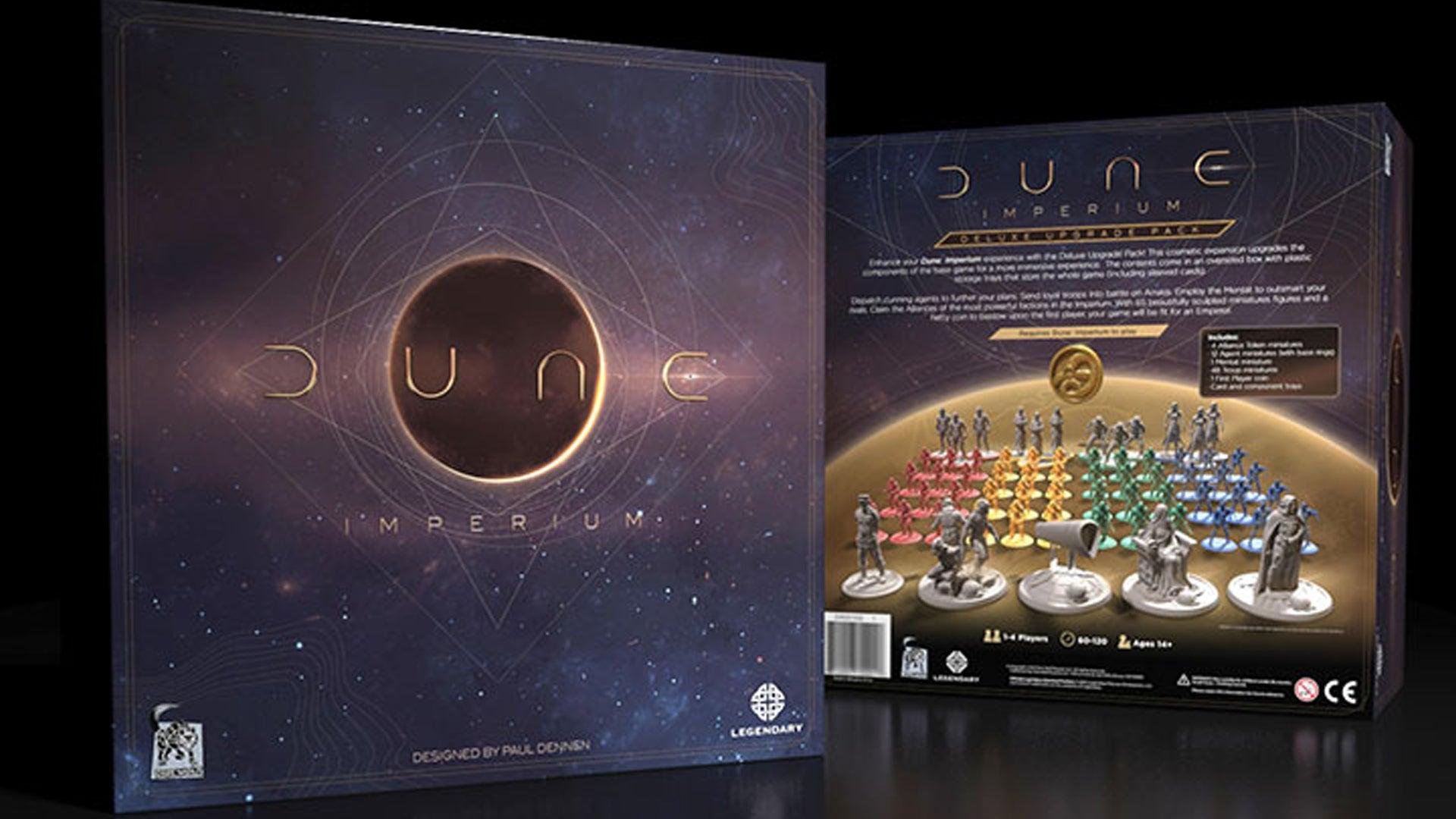 Dune: Imperium Deluxe Upgrade Pack box