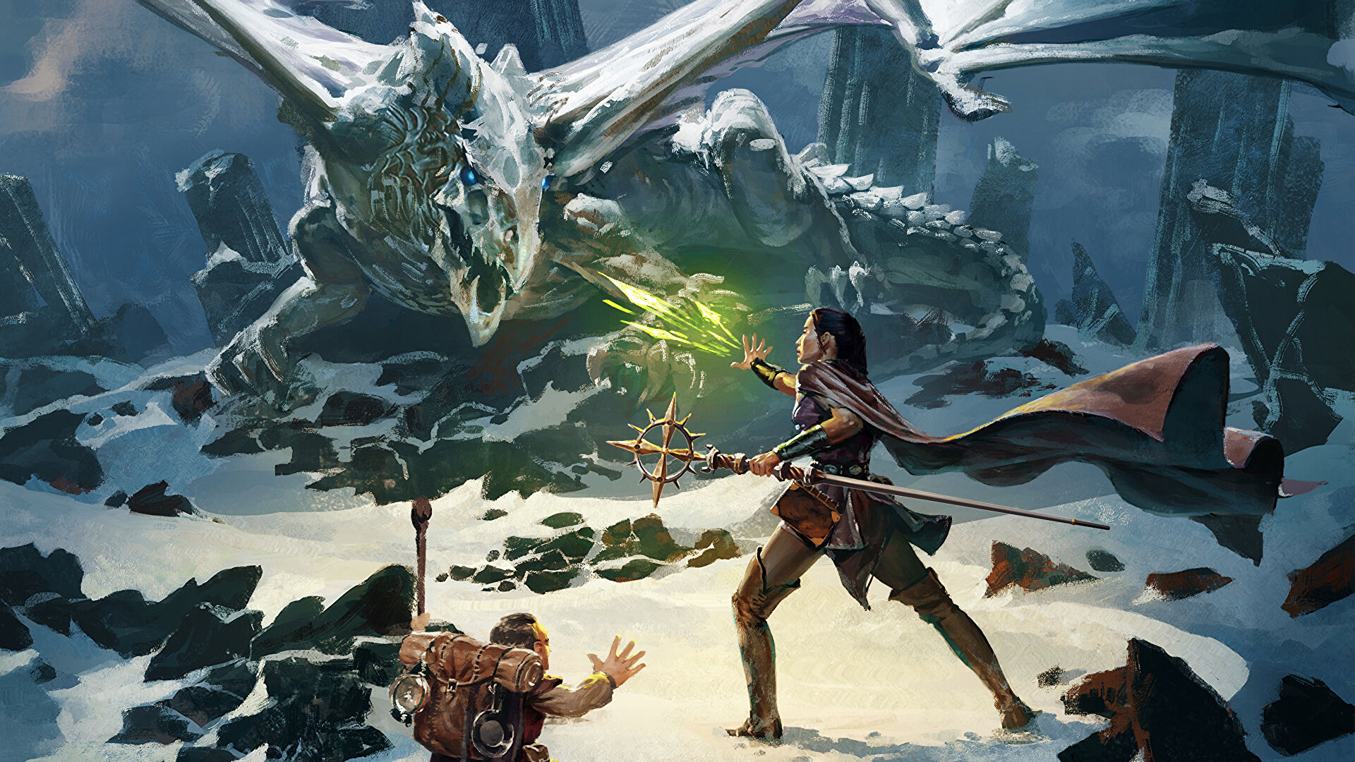 Warner Bros has proposed a project to bring the role-playing game Dungeons and Dragons to the big screen.