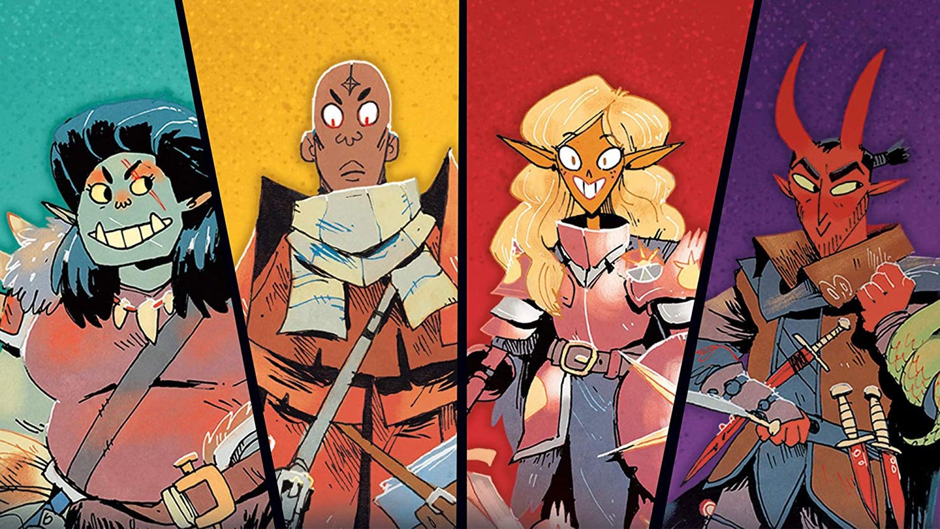 Dungeon Mayhem board game artwork