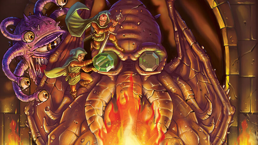 Dungeon Party board game artwork