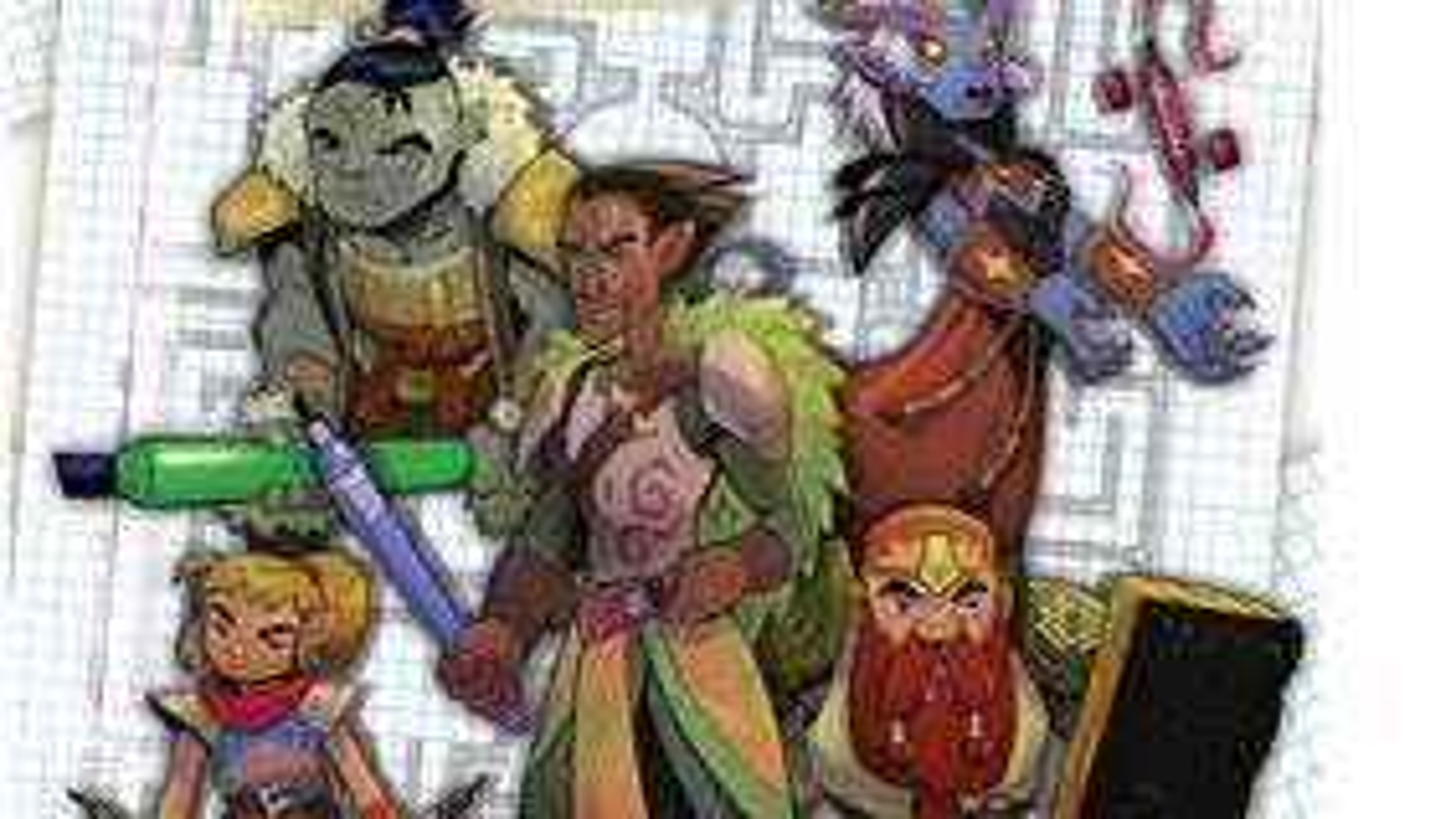 Dungeons Scrawlers - Heroes of Undermountain artwork