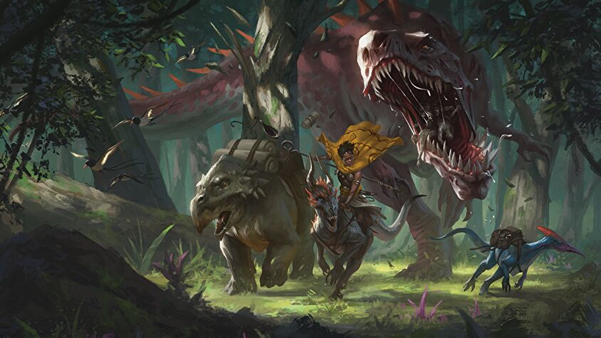 Dungeons & Dragons 5E Roleplaying Game Artwork