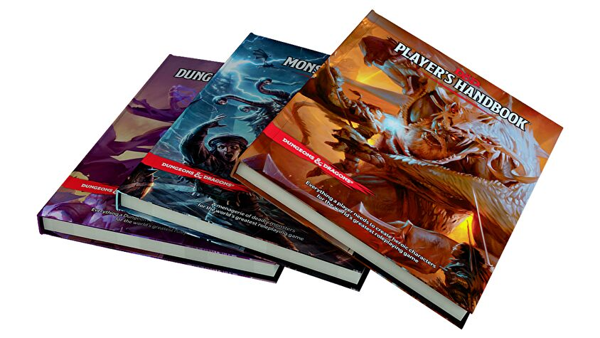 Dungeons & Dragons 5E core rulebooks