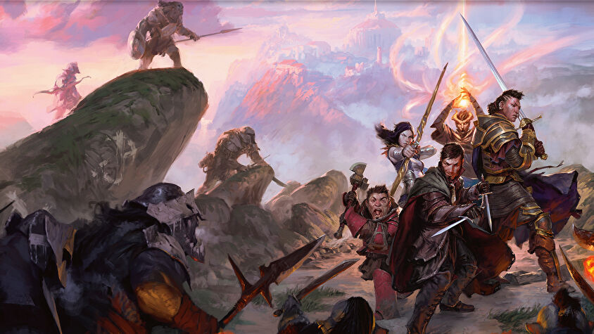Dungeons & Dragons roleplaying game artwork 19