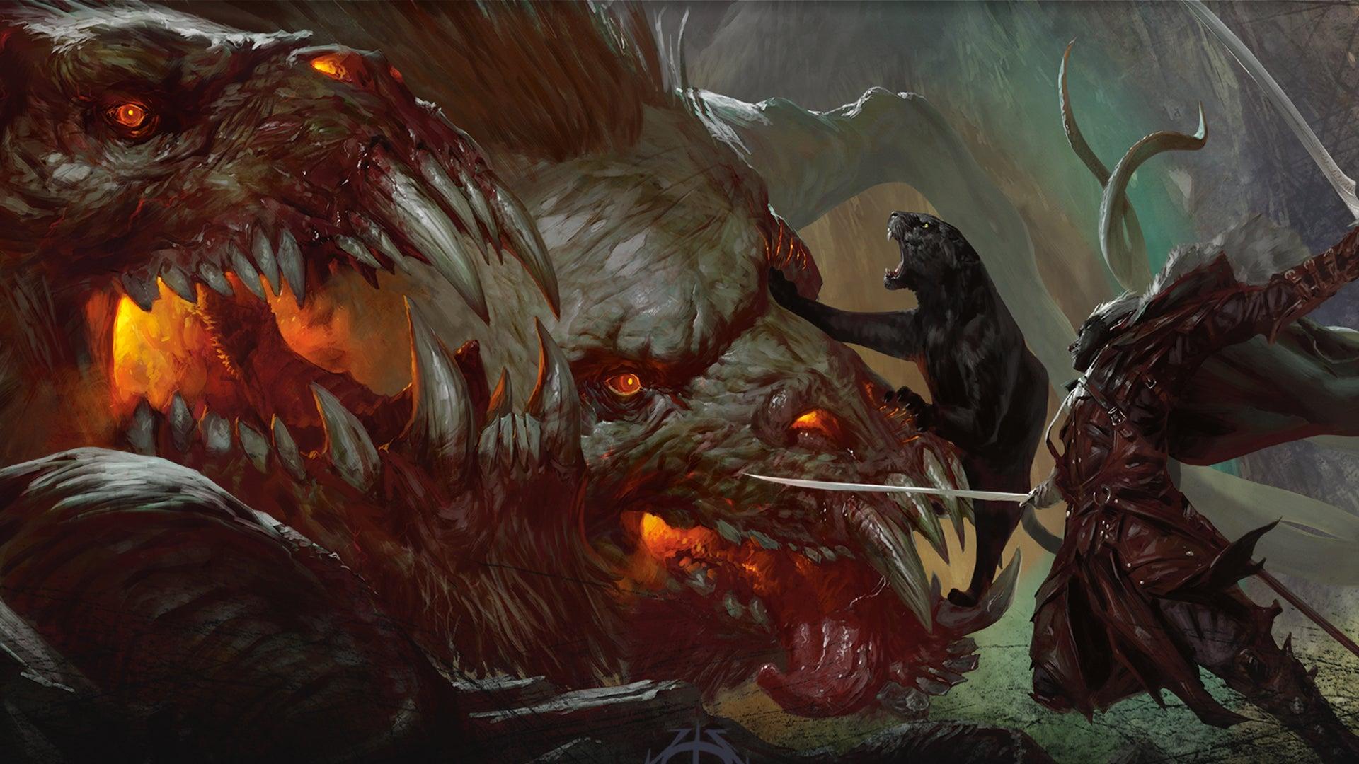 Dungeons & Dragons roleplaying game artwork 22