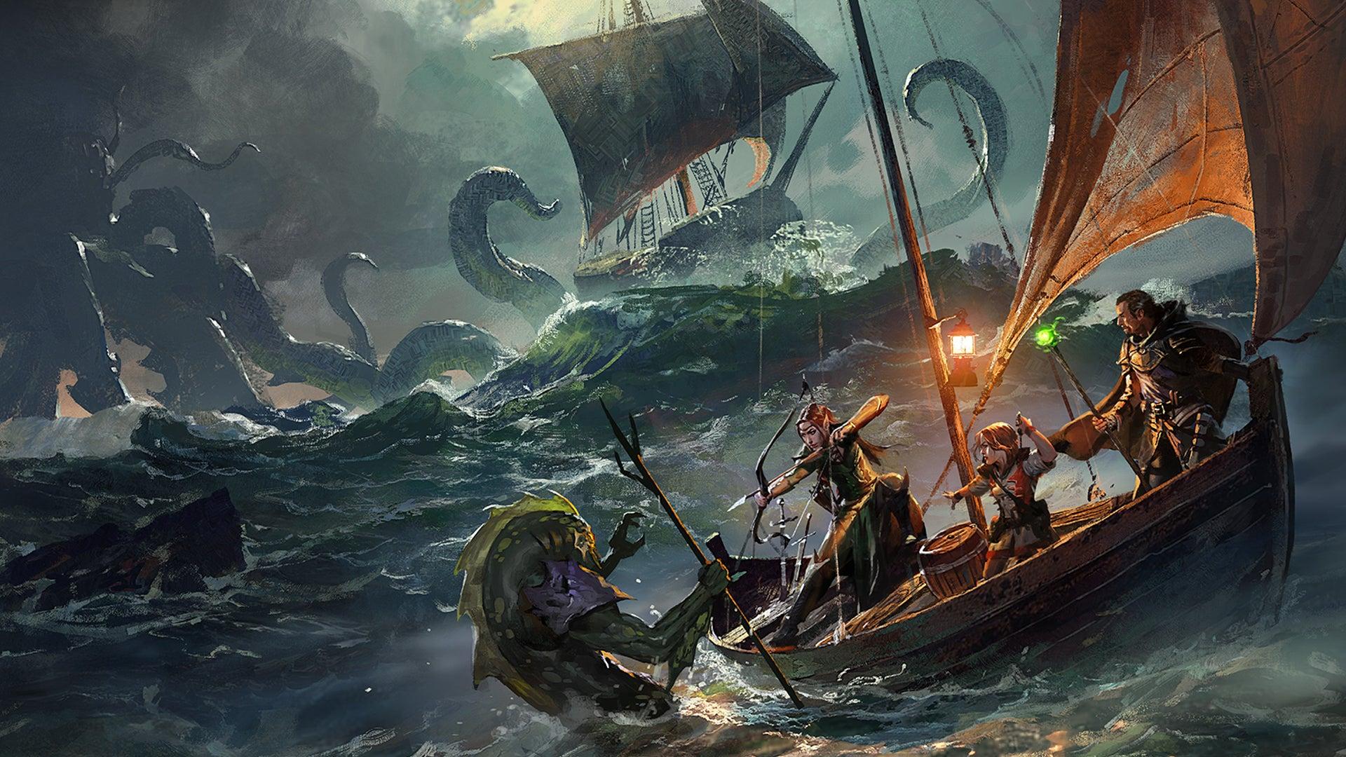 Dungeons & Dragons roleplaying game artwork 17