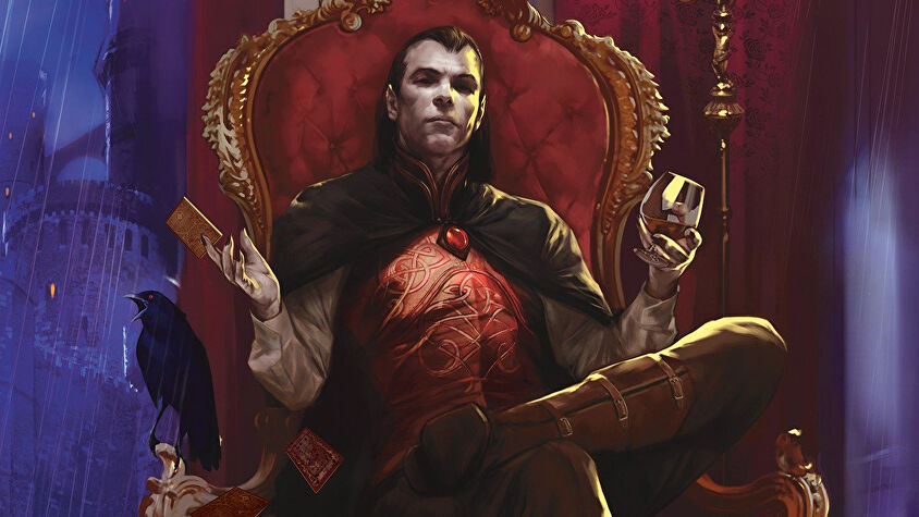 Dungeons & Dragons RPG Curse of Strahd campaign sourcebook