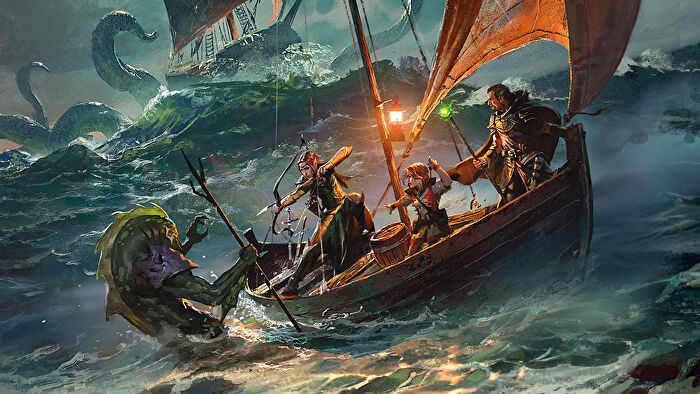 Dungeons & Dragons RPG Ghosts of Saltmarsh campaign sourcebook