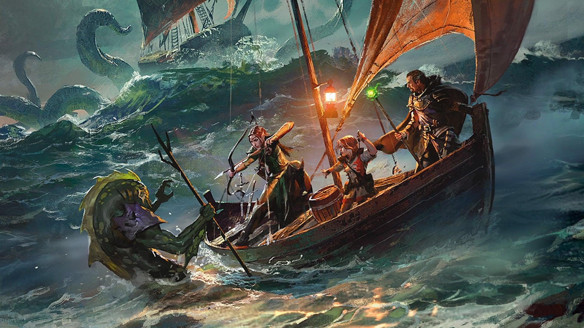 Dungeons & Dragons RPG Ghosts of Saltmarsh campaign sourcebook