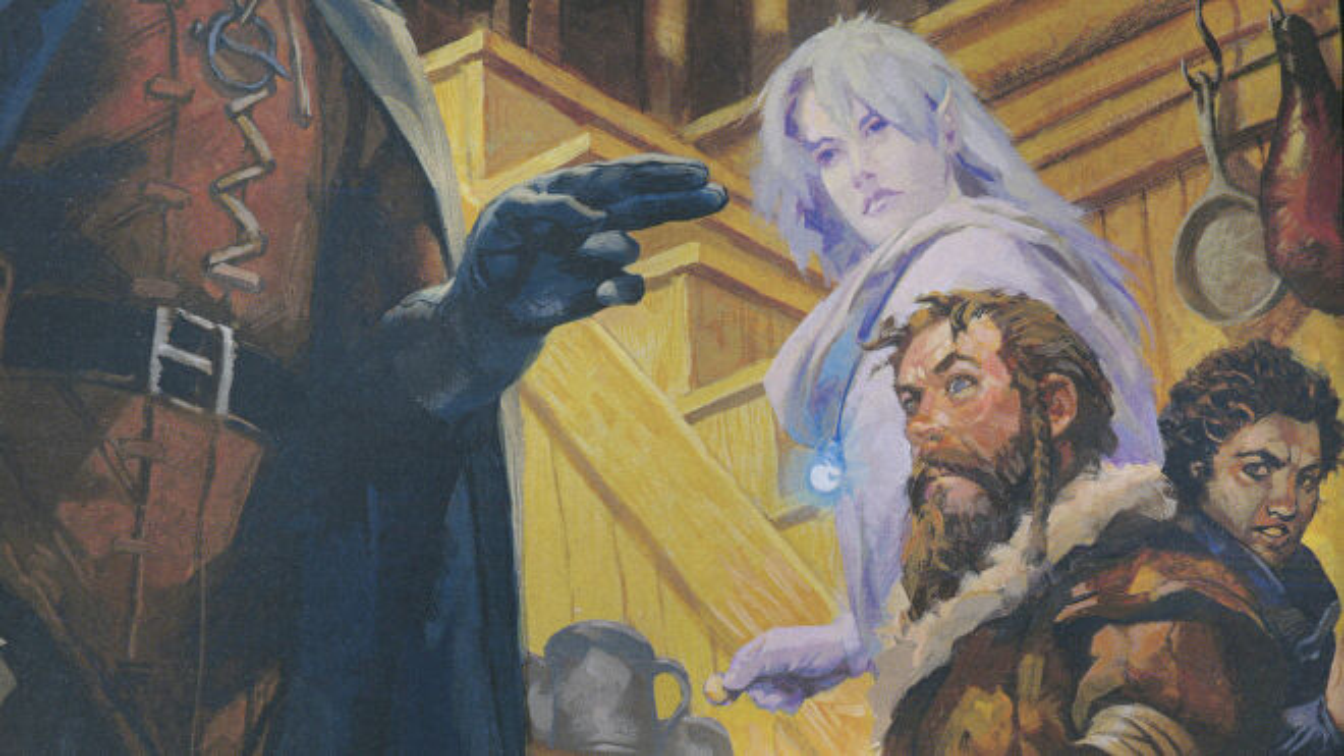Dungeons & Dragons 5e Players Handbook artwork 2