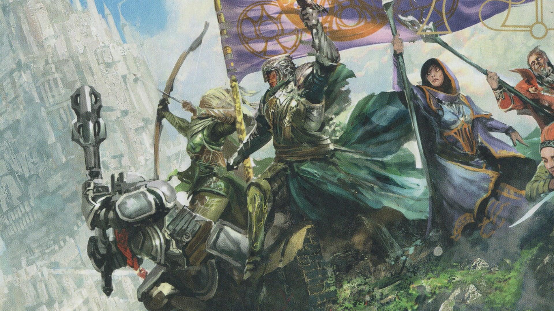 Dungeons & Dragons 5e Players Handbook artwork 1