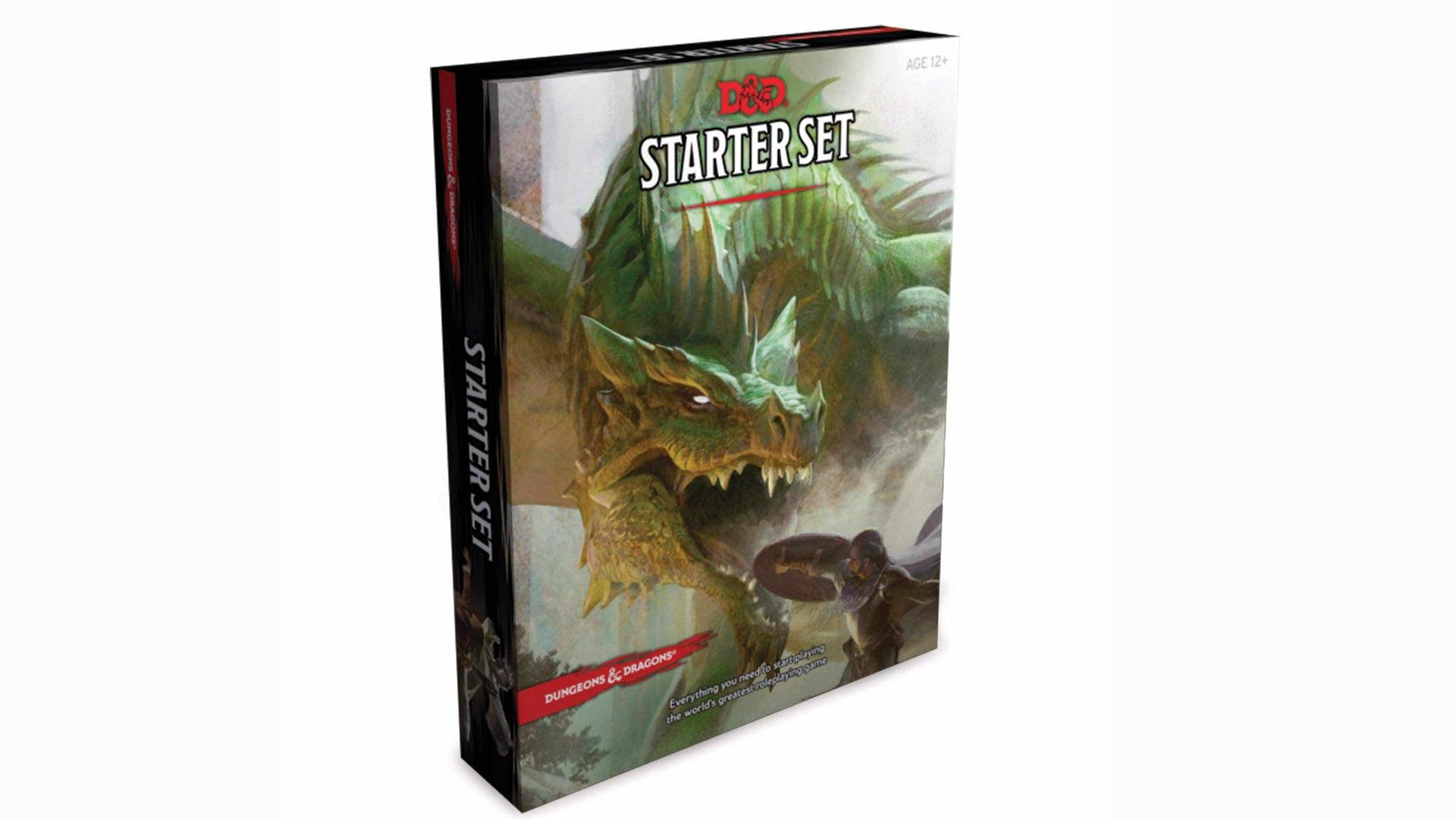 Dungeons & Dragons Starter Set front artwork
