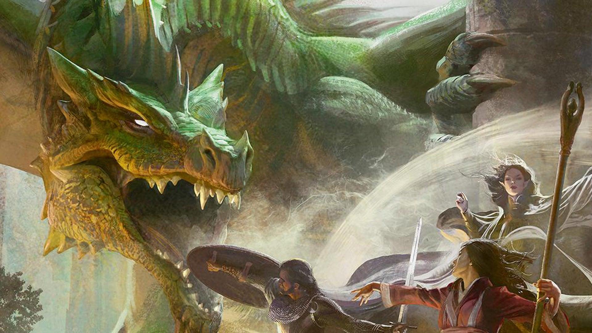 Dungeons & Dragons Starter Set artwork cover