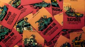 Image for Dustbiters is basically Mad Max: Fury Road as a card game, from Minit, Broforce and Disc Room devs