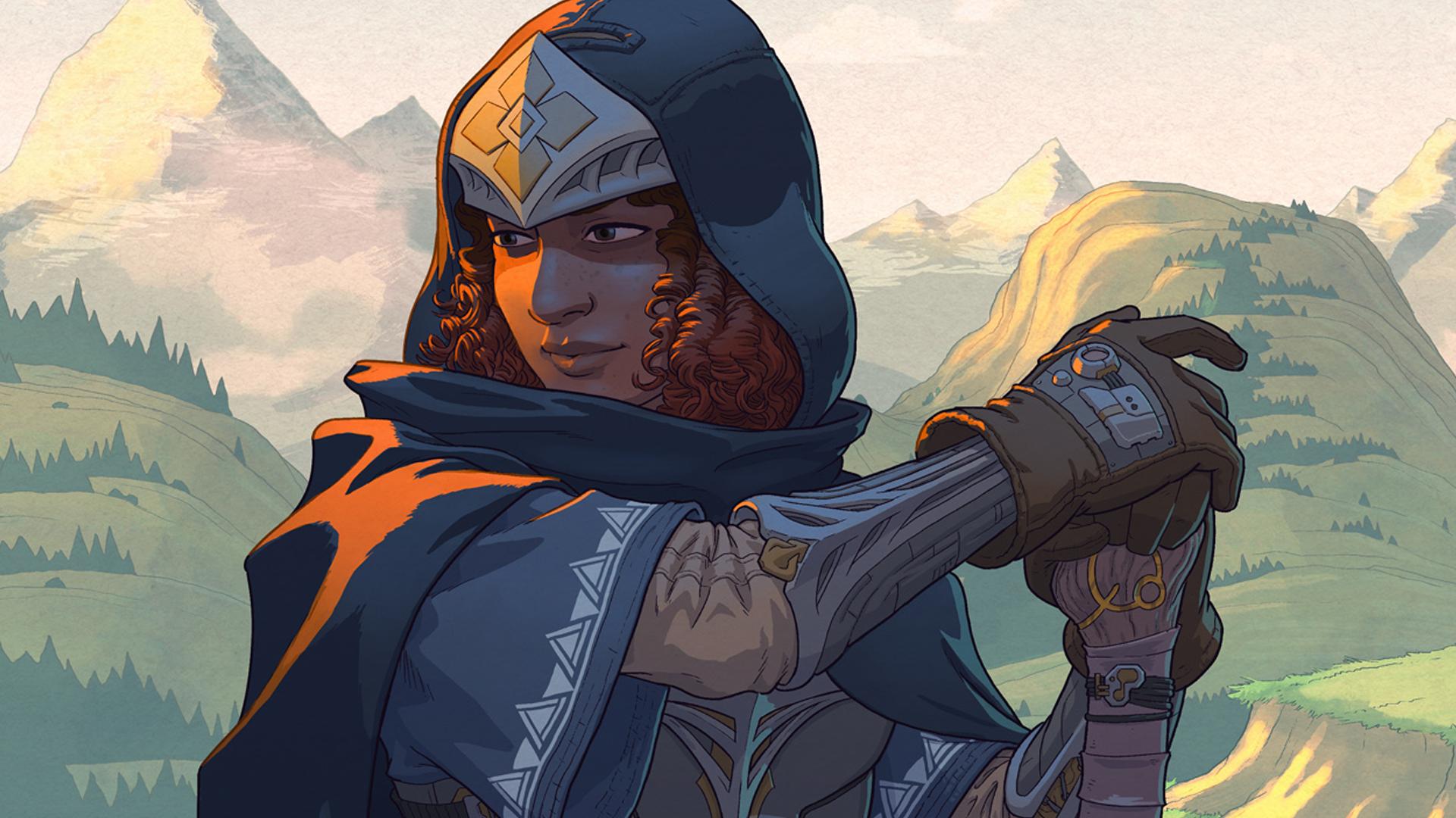 Earthborne Rangers - ranger artwork