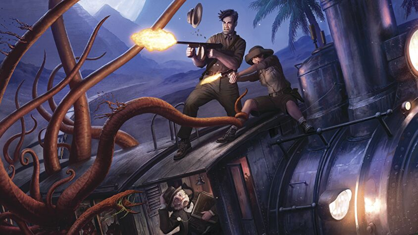 Eldritch Horror board game artwork