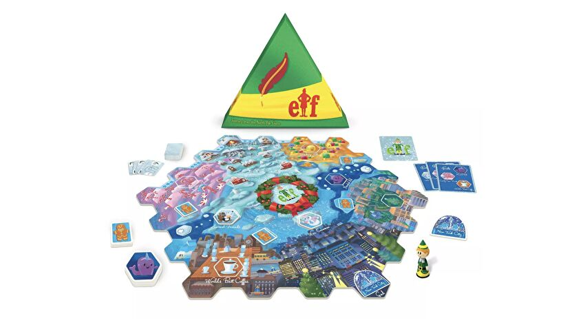 Elf: Journey from the North Pole board game layout