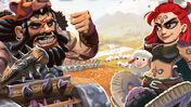 Empires of the North: Barbarian Hordes board game artwork