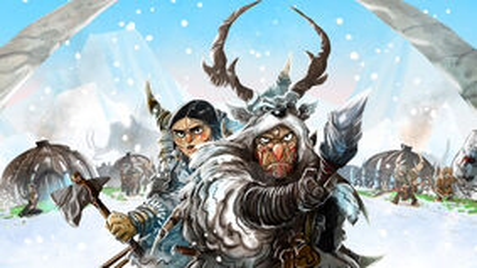 Endless Winter: Paleoamericans board game artwork