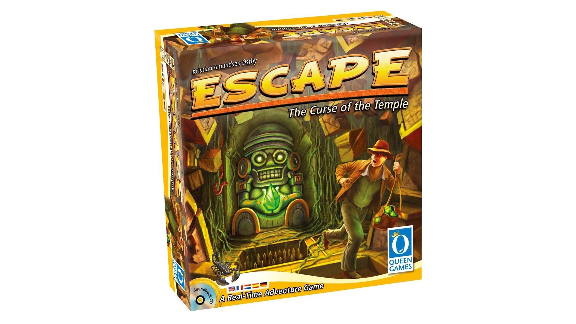 Escape: The Curse of the Temple board game box