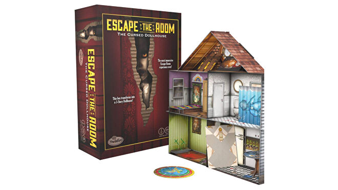 Escape the Room: The Cursed Dollhouse layout