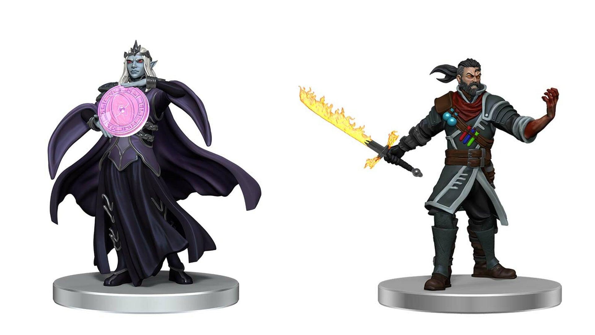 Exandria Blood Hunter and Dunemancy Wizard