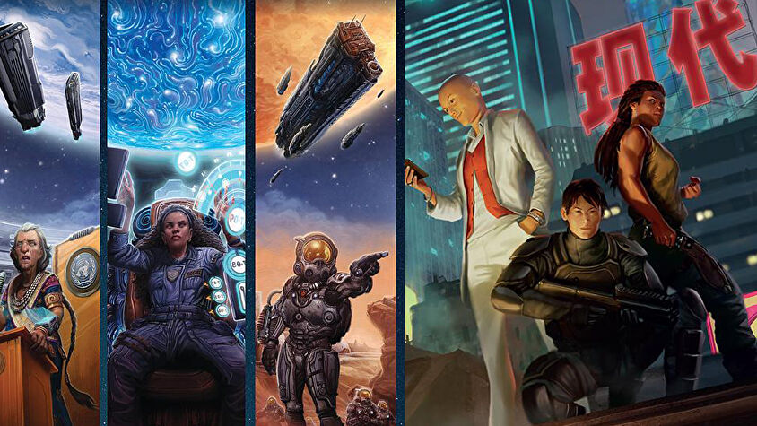 Expanse and Modern Age artwork deal