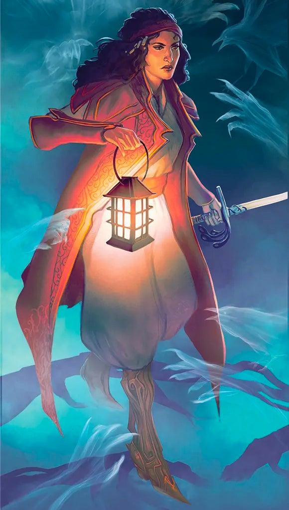 Ezmerelda d'Avenir artwork from D&D 5E - Van Richten's Guide to Ravenloft