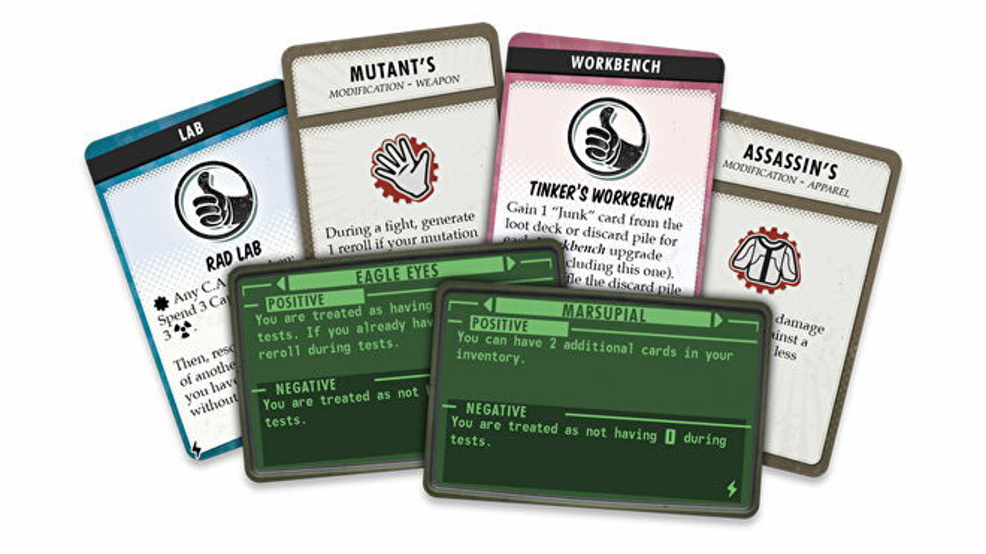 Fallout: the Board Game Atomic Bonds