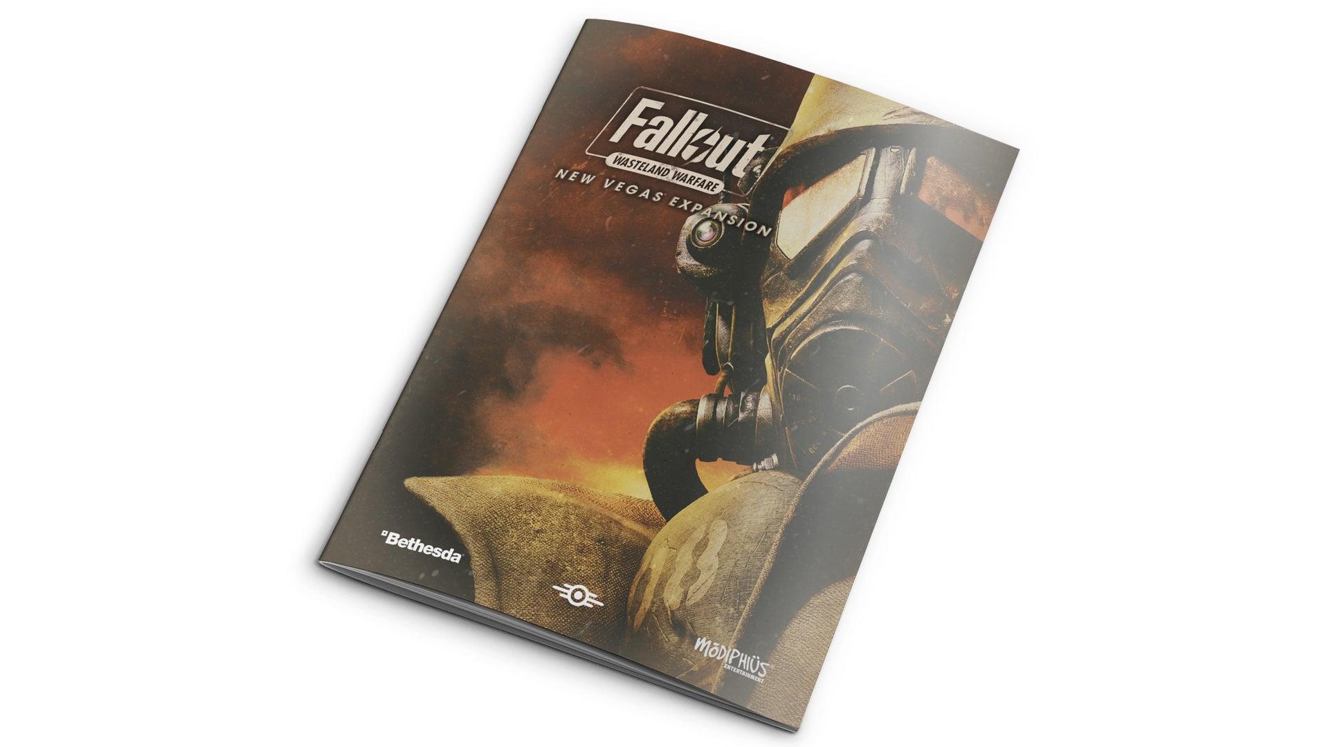 Fallout: Wasteland Warfare - New Vegas booklet