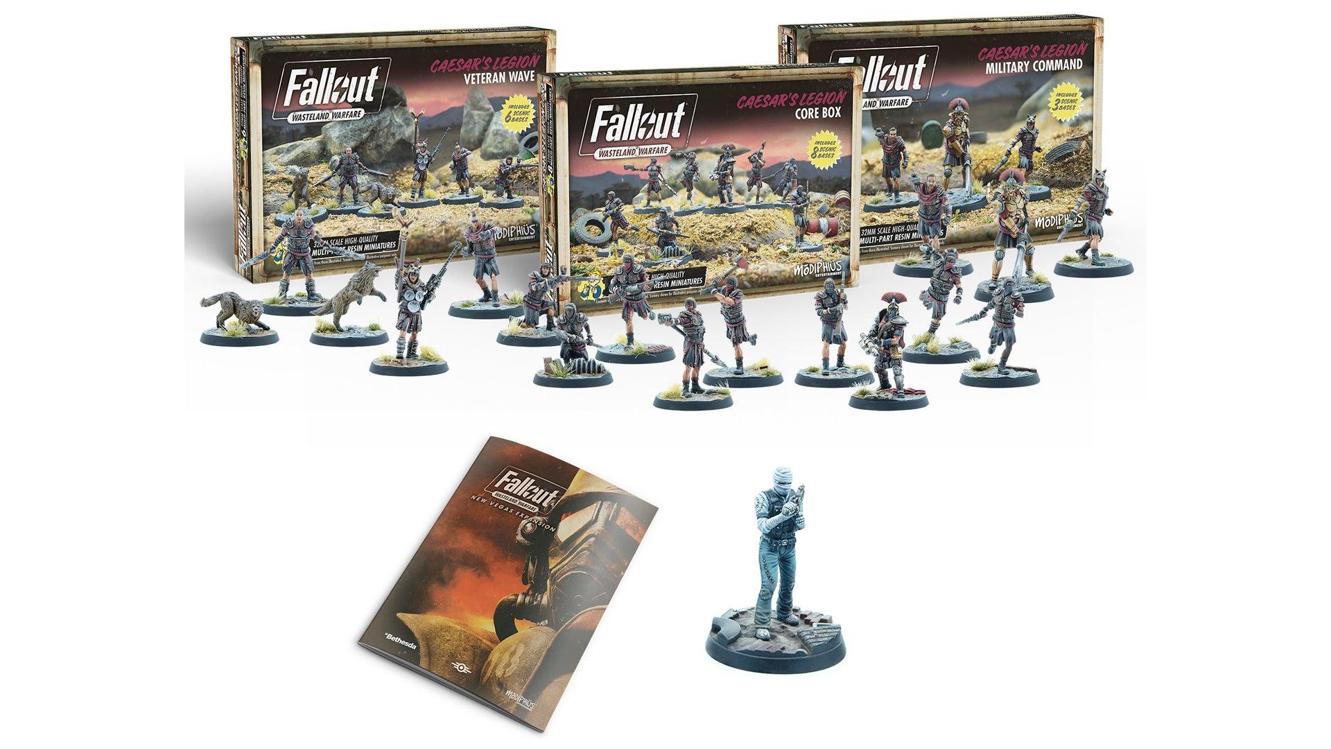 Fallout: Wasteland Warfare - New Vegas layout