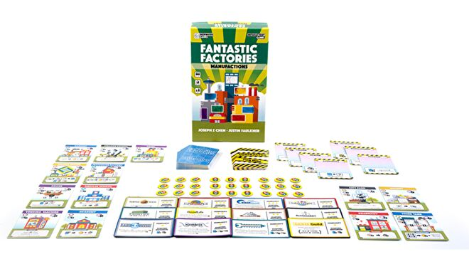Fantastic Factories Manufactions box components