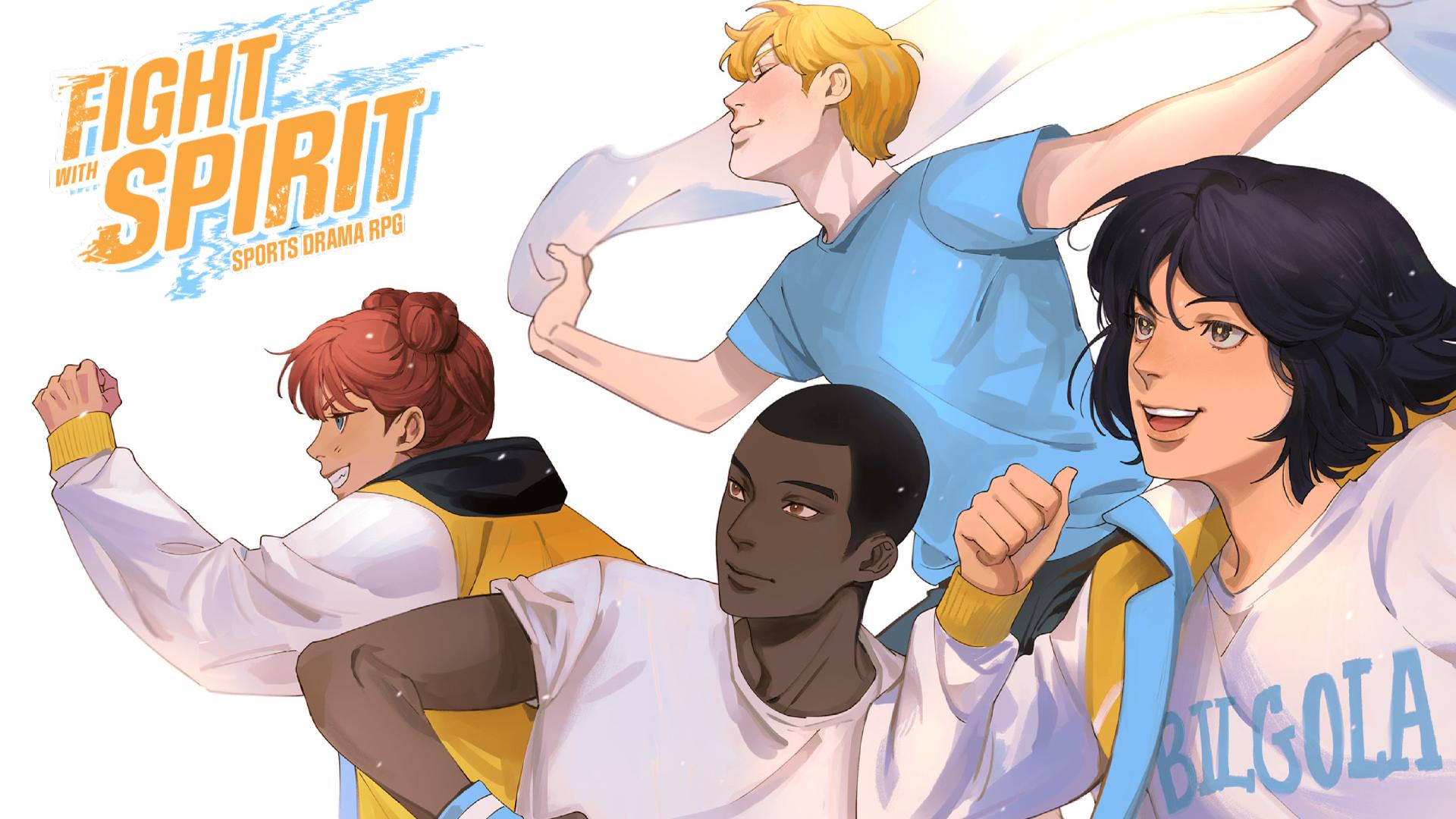 Fight with Spirit RPG artwork