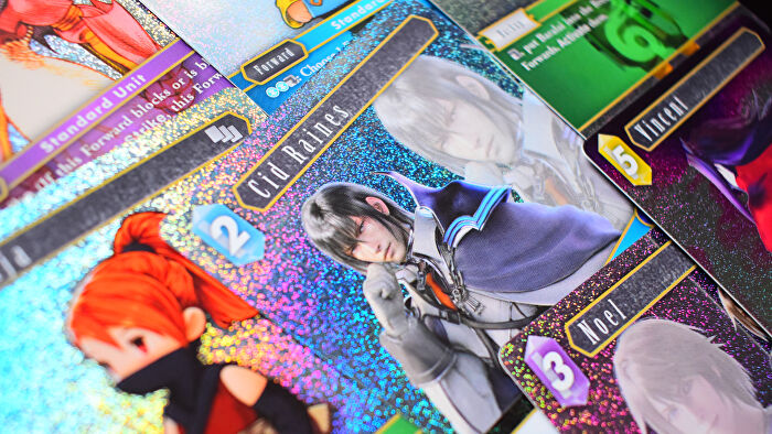 Final Fantasy Trading Card Game video game board game photo