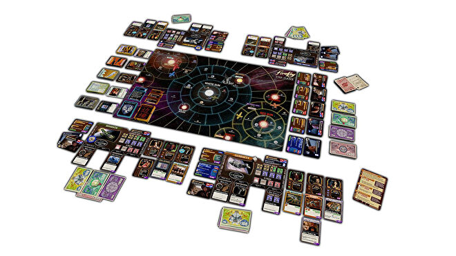Firefly: The Game movie board game gameplay layout