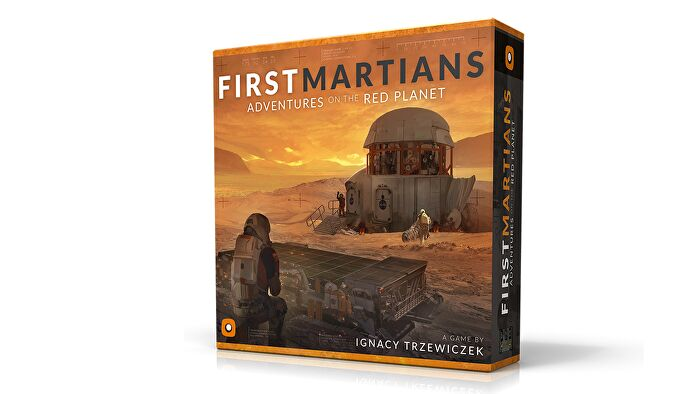 First Martians: Adventures on the Red Planet legacy board game box