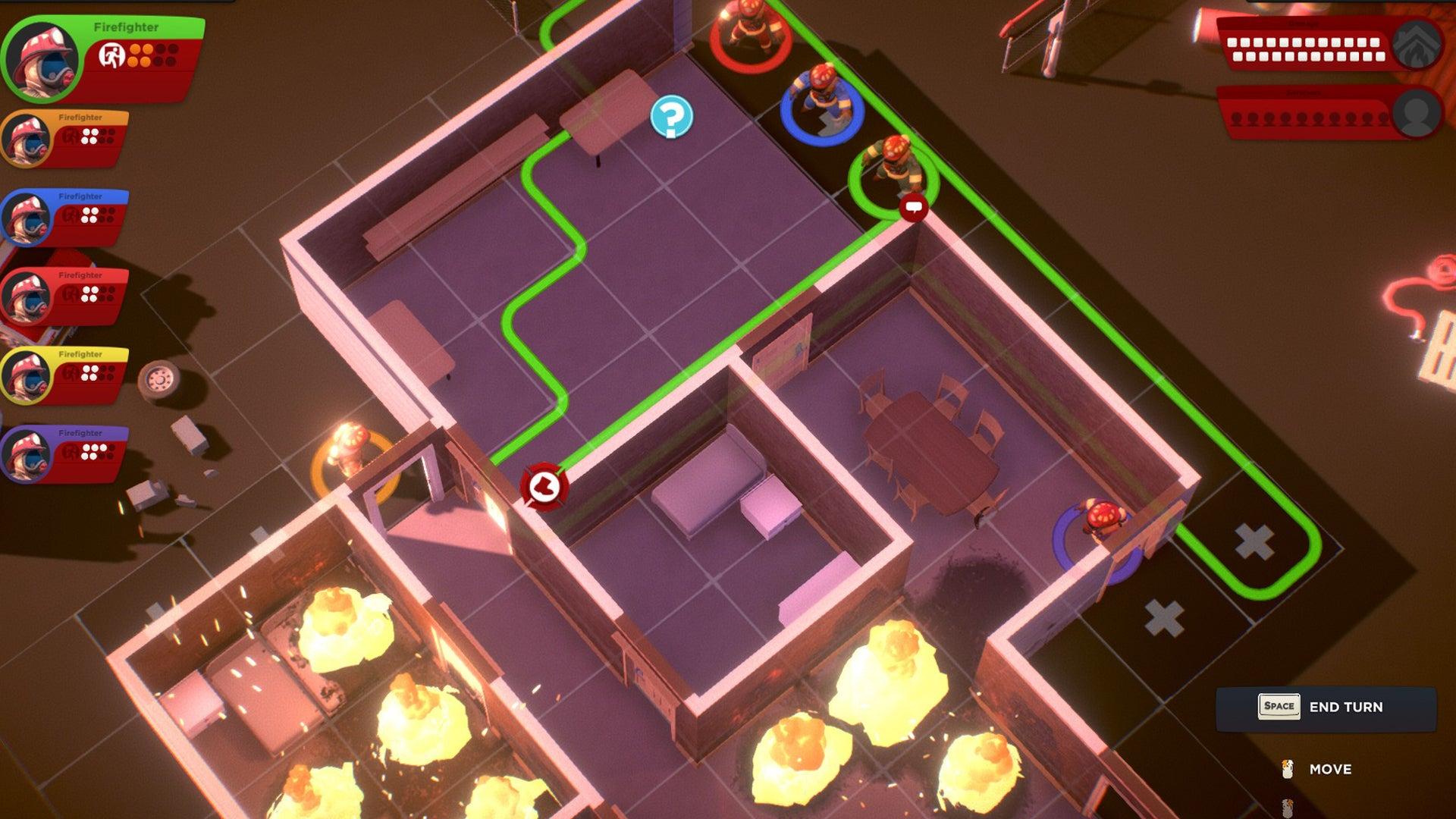 Flash Point: Fire Rescue digital board game screenshot
