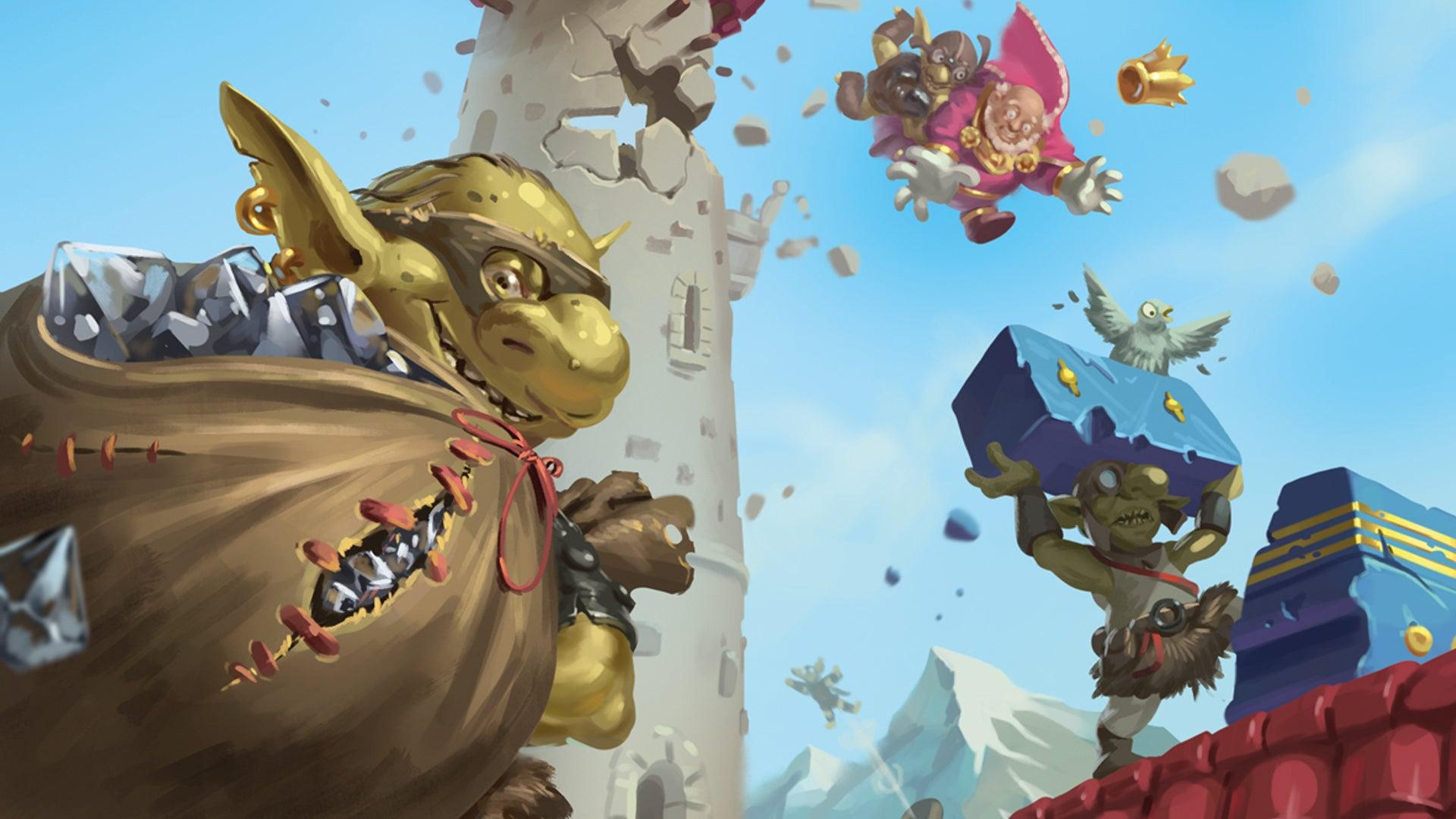 Flying Goblins board game artwork