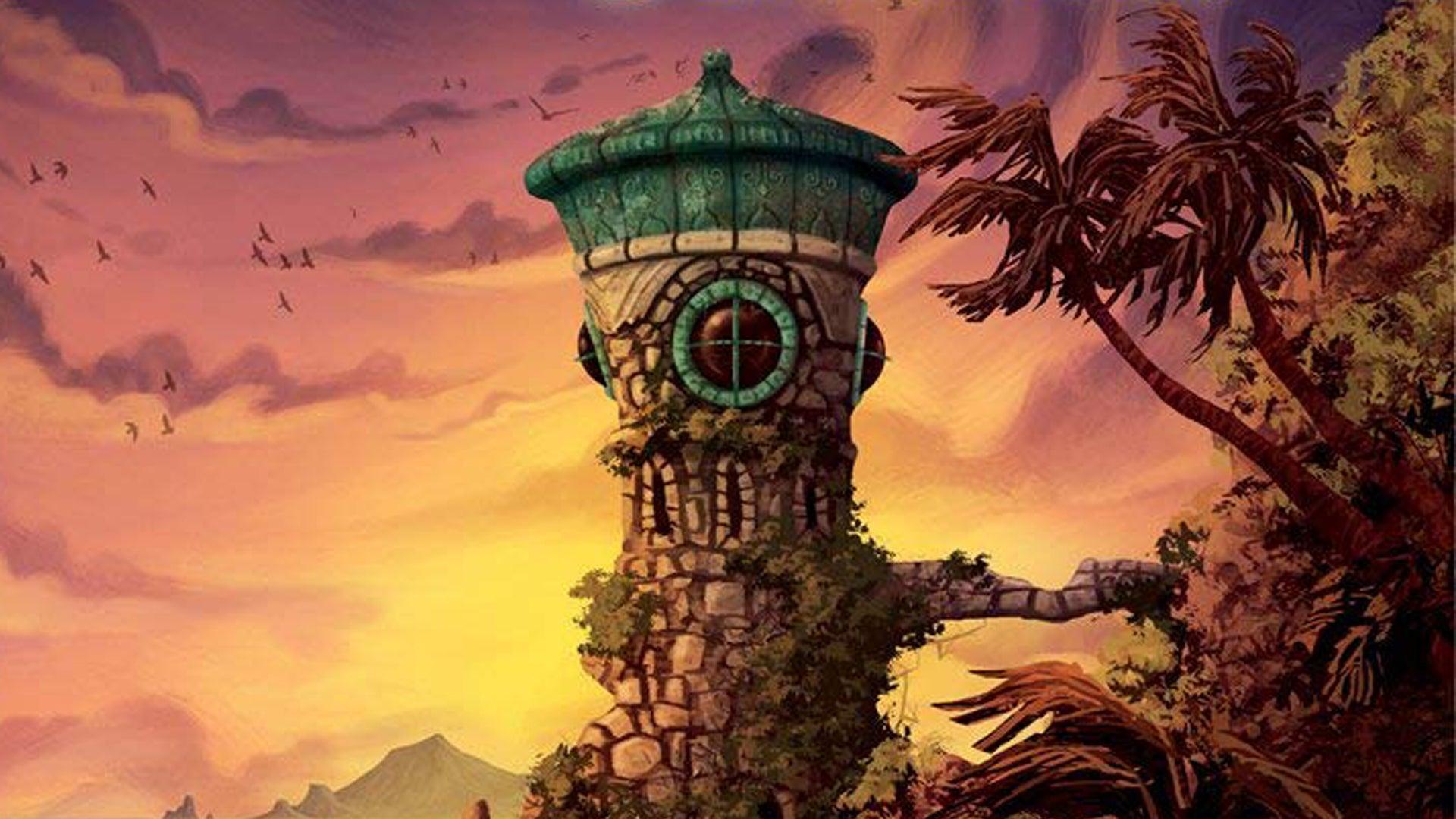 Forbidden Island board game artwork