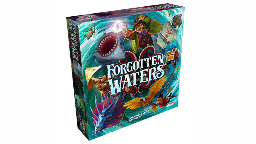 Forgotten Waters board game artwork 2