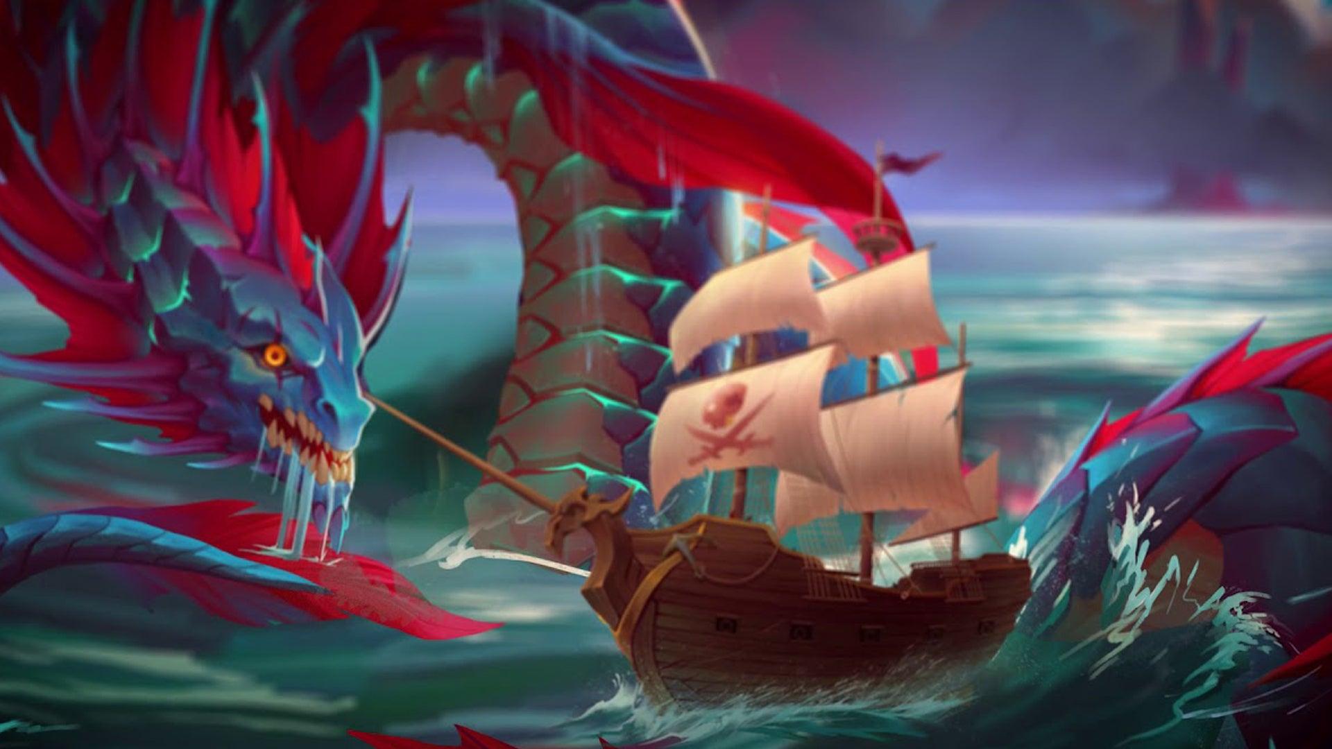 Forgotten Waters board game artwork 3