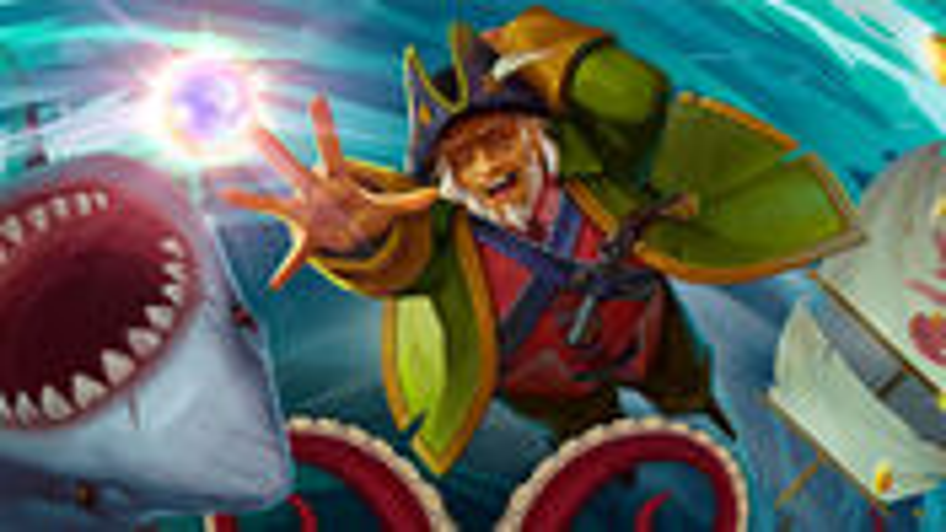 Forgotten Waters board game artwork retail release postponed
